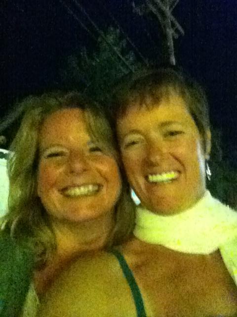 With Kerri after Duggans